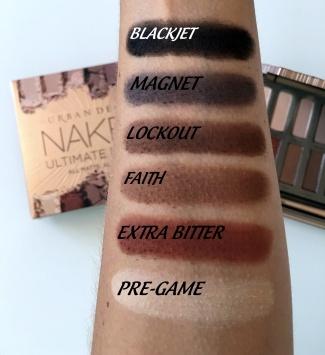 Naked Ultimated Basics swatches 1.JPG