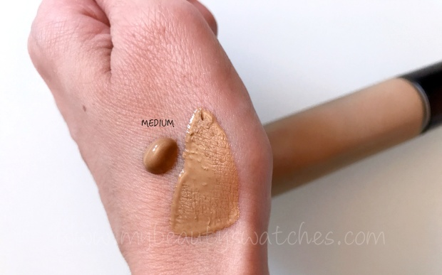 BECCA Aqua Luminous Perfecting Foundation swatch