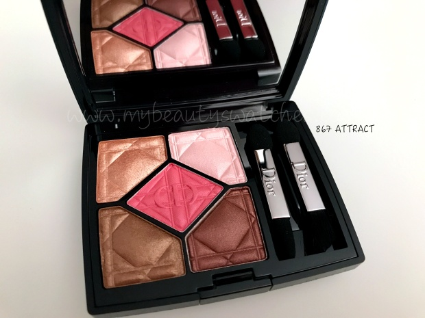 Dior Care & Dare palette Attract