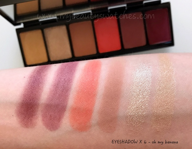 Mac Fruity Juicy palette Oh My Banana swatch.jpg