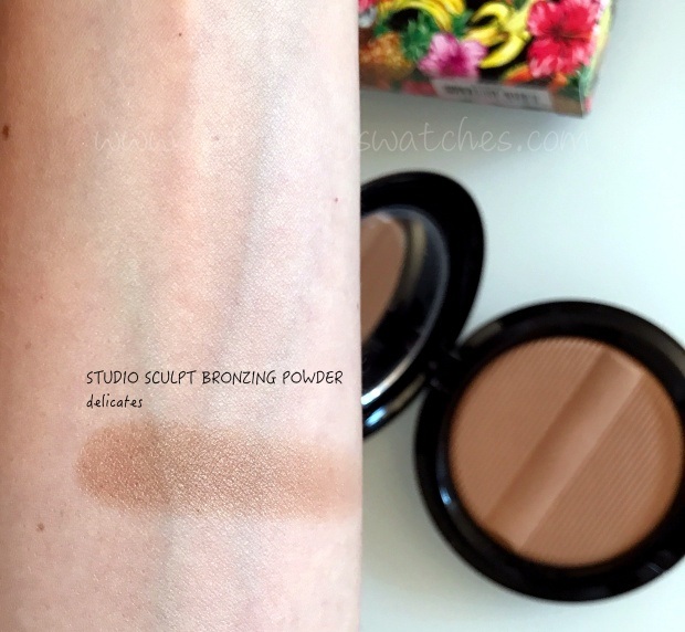 Mac Fruity Juicy Studio Sculpt Bronzing Powder swatch.jpg