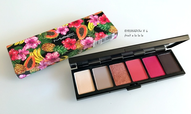 Mac Fruty Juicy palette Fruit A La La La.JPG