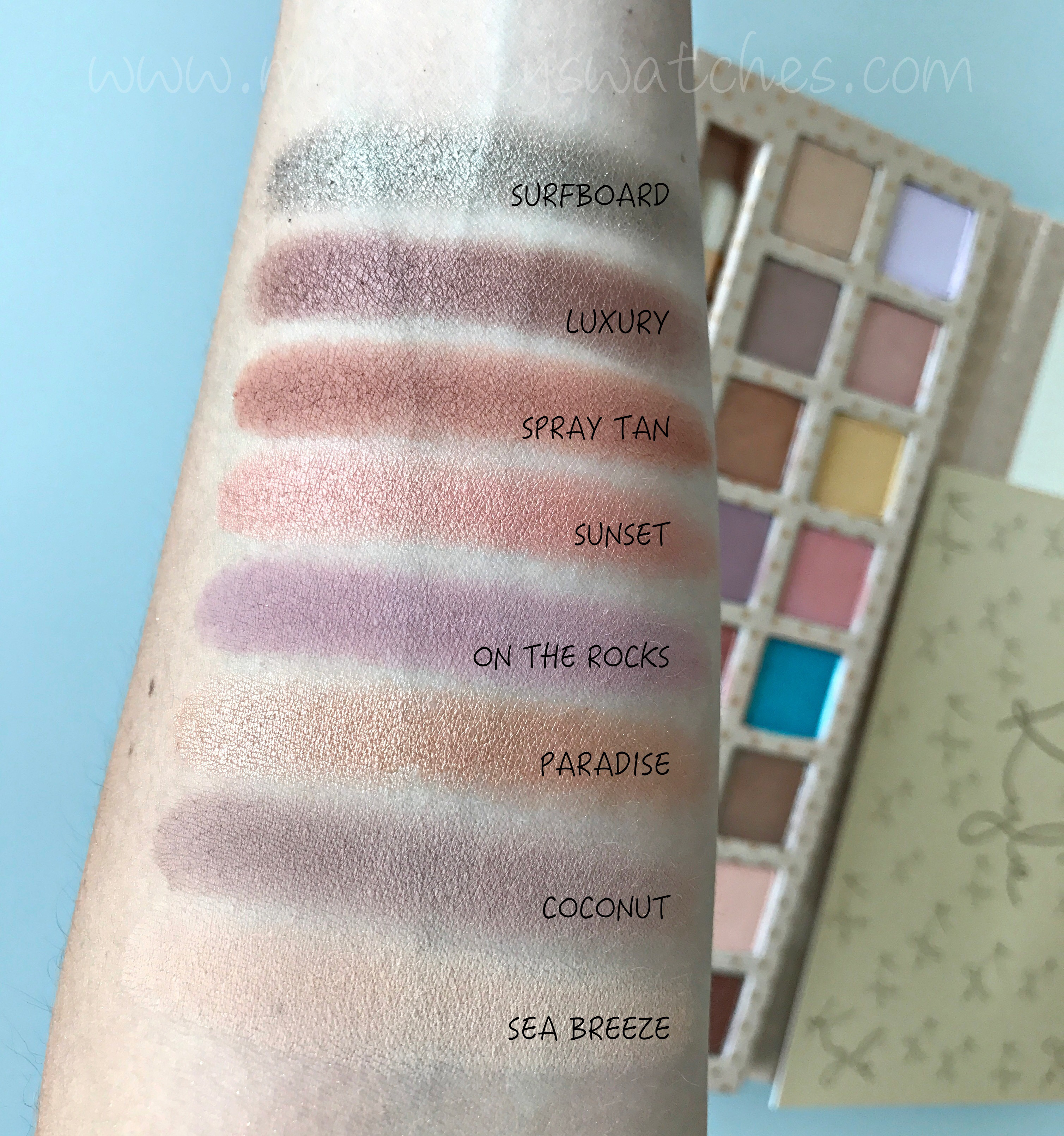 Kyshadow - Take Me On Vacation Palette by Kylie Cosmetics #13