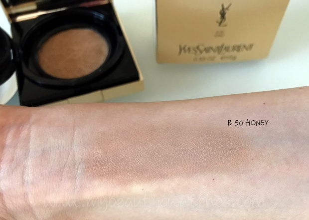 YSL Touche Eclat Le Cushion swatch 3.JPG