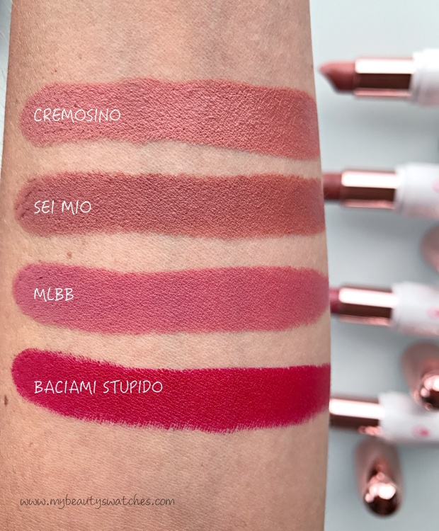 ClioMakeUp_Creamy Love swatches.JPG
