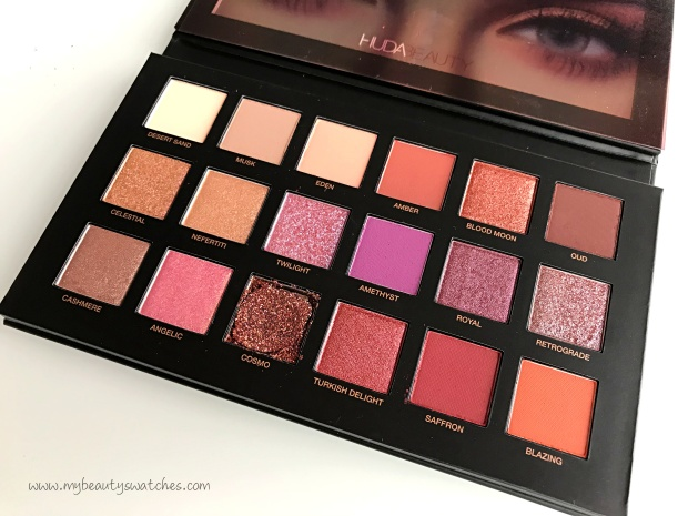 Huda Beauty Desert Dusk 3