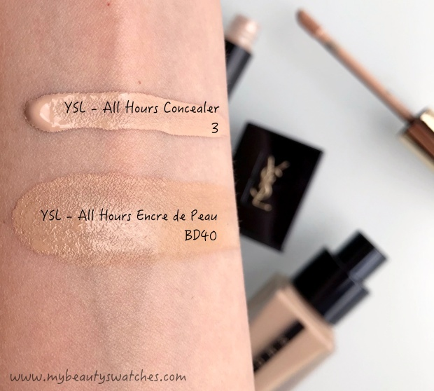 Ysl_All Hours swatches