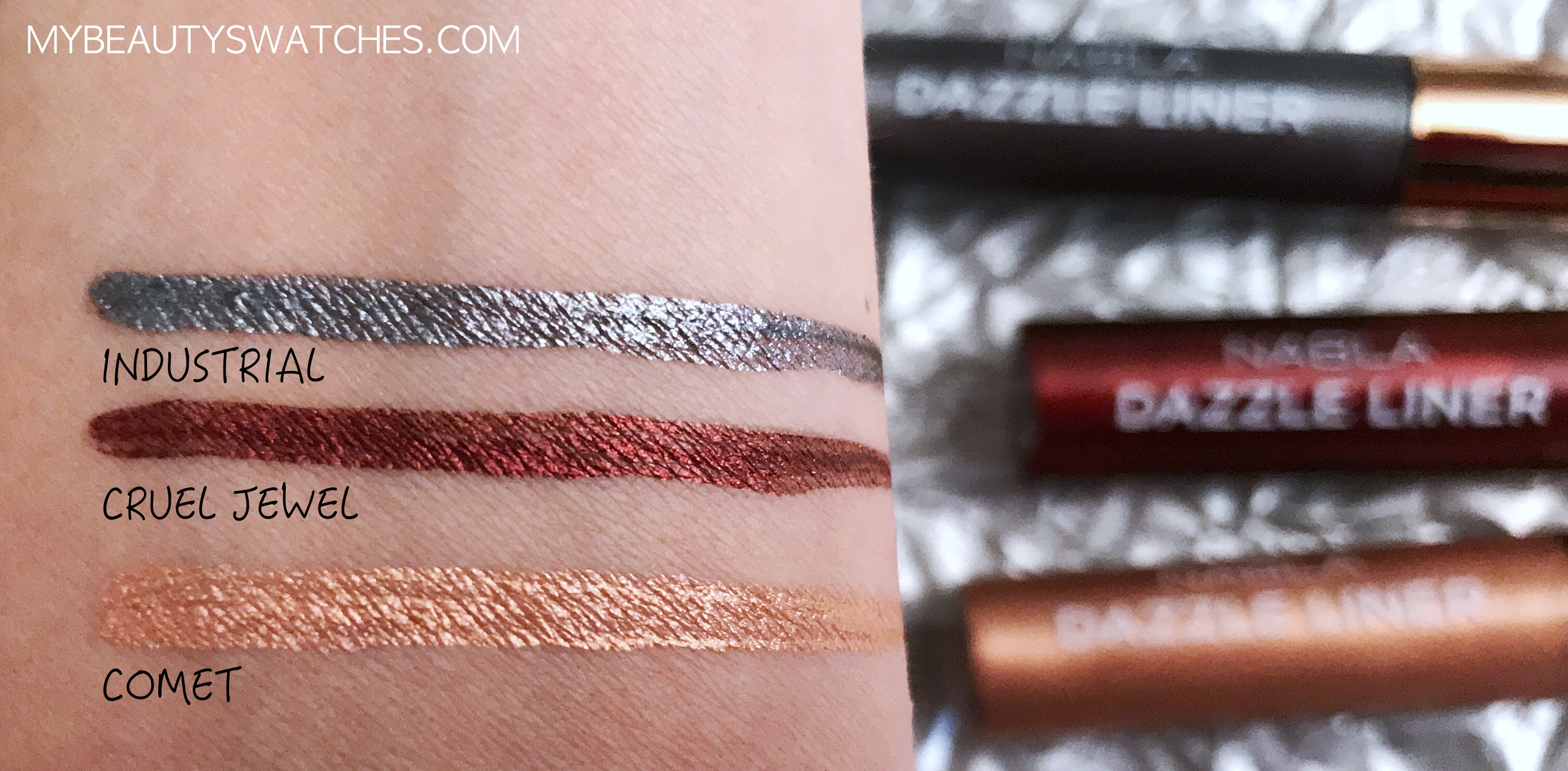 Nabla Holiday Collection_Dazzle Liner swatches.jpg