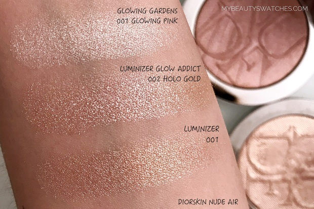 Dior Glow Addict_Nude Air Luminizer swatches comparison.jpg