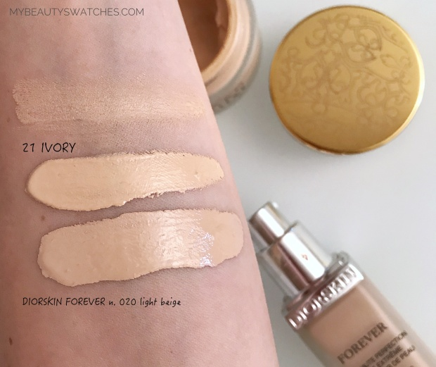 LABO filler makeup_Smoothing Cream Foundation swatches 2.jpg