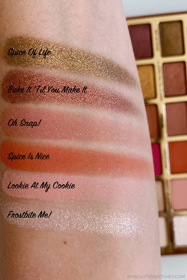 Too Faced_Gingerbread Palette swatches 2.jpg