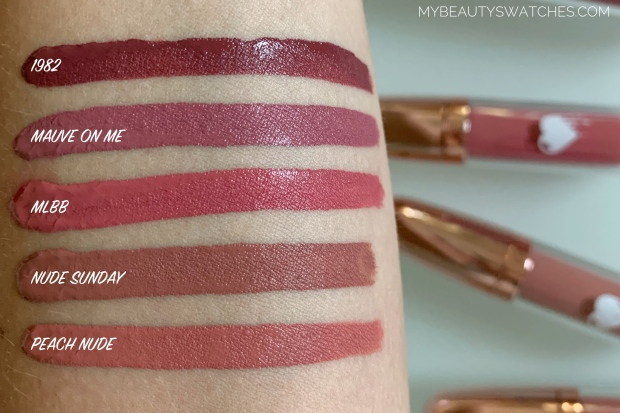 Clio MakeUp_Liquid Love swatches compa.jpg